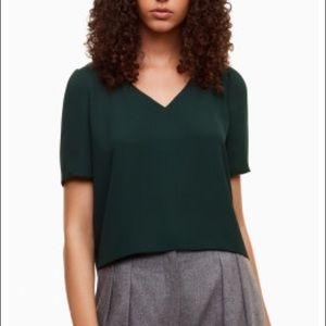 Babaton Murphy Green blouse